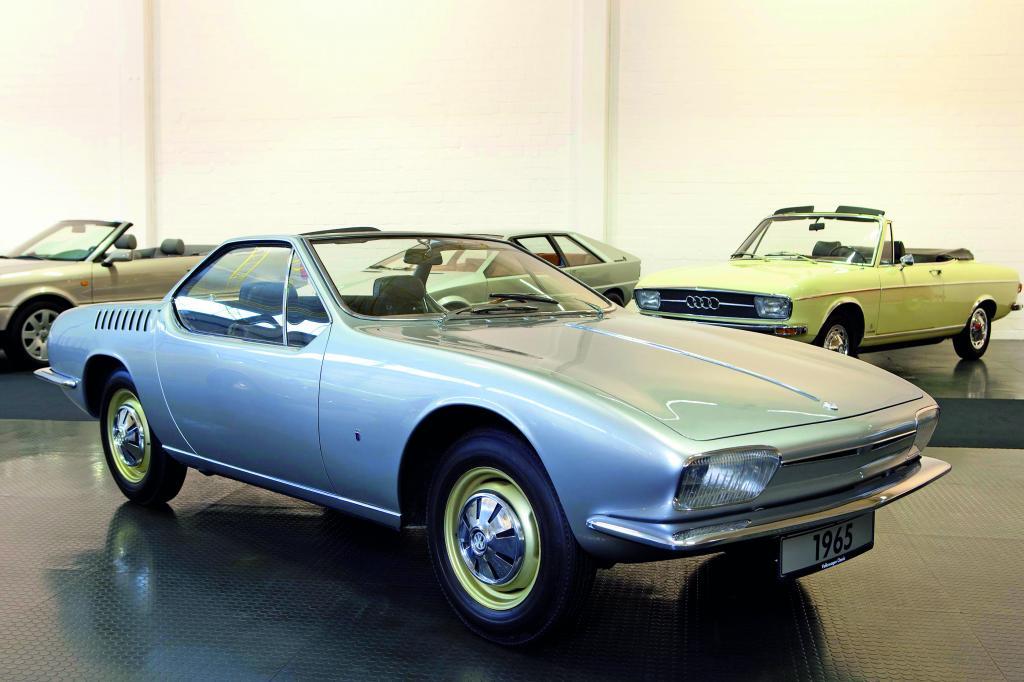 Designstudie Karmann Ghia Typ 1 von 1965.