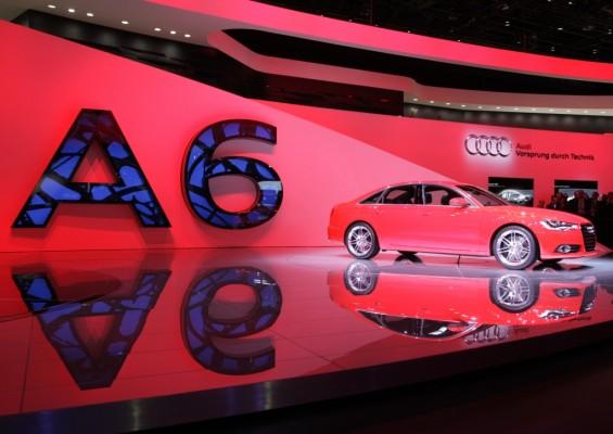 Detroit 2011: Audi A6 ab Frühjahr erhältlich
