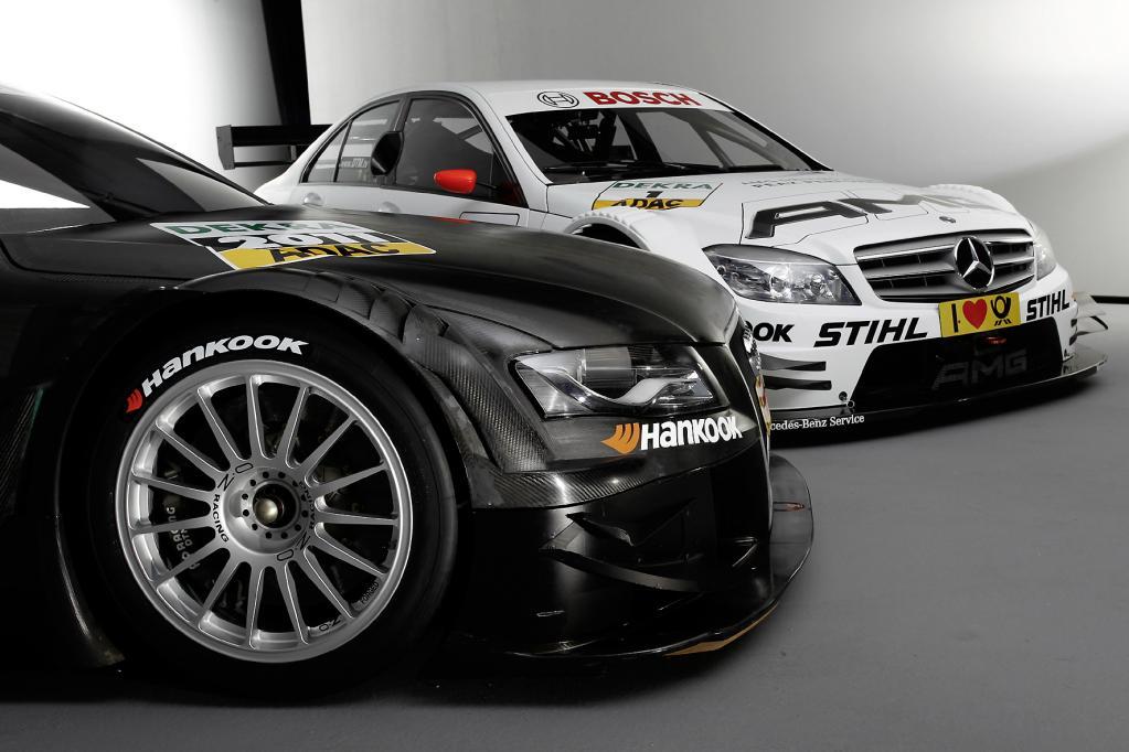 Die DTM-Rennreifen für die kommende Saison werden von Hankook bereitgestellt.