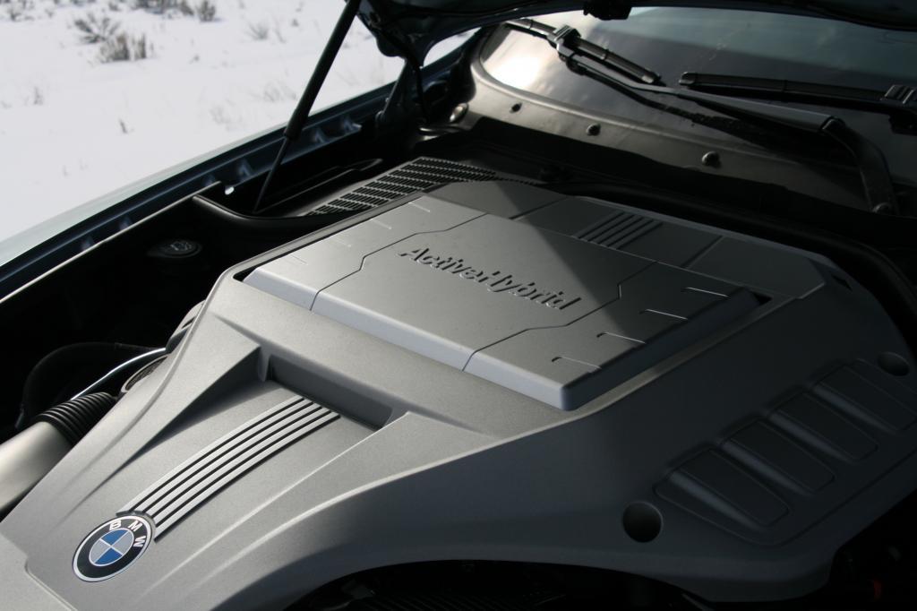 Die Systemleistung beträgt üppige 357 kW/485 PS