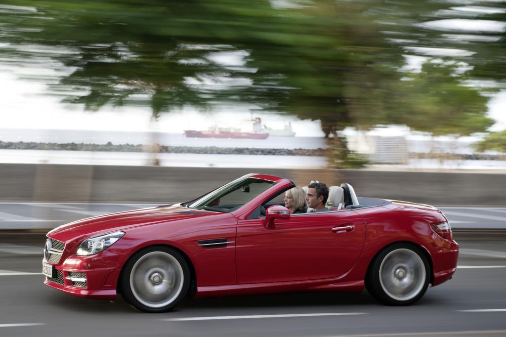 Die dritte Generation des Mercedes-Benz SLK
