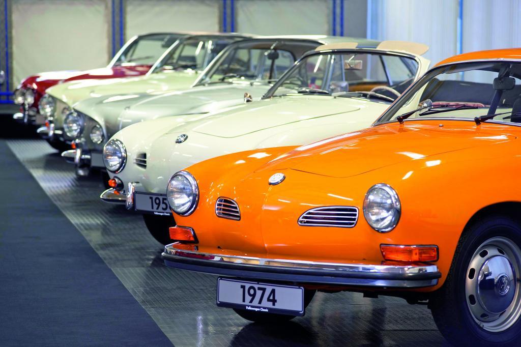 Die neue Automobilsammlung von Volkswagen Osnabrück umfasst 73 Fahrzeuge, die zum Teil noch nie der Öffentlichkeit gezeigt wurden.