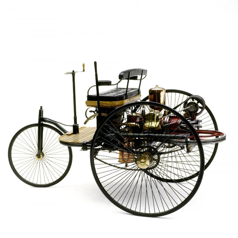 Diesen dreirädrigen Motorwagen hat sich Carl Benz vor 125 Jahren patentieren lassen.