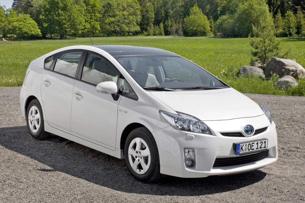 Ein Trendsetter bei Fahrzeugen mit alternativen Antrieben  ist der Toyota Prius