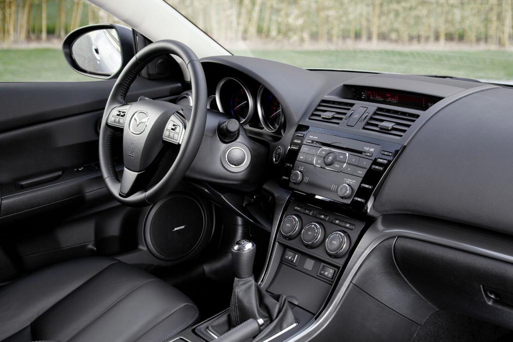 Ein hochwertiges Ambiente findet sich im Innern des Mazda6.