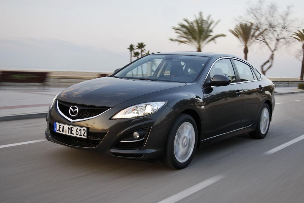Er ist eine stattliche Erscheinung, der Mazda6.