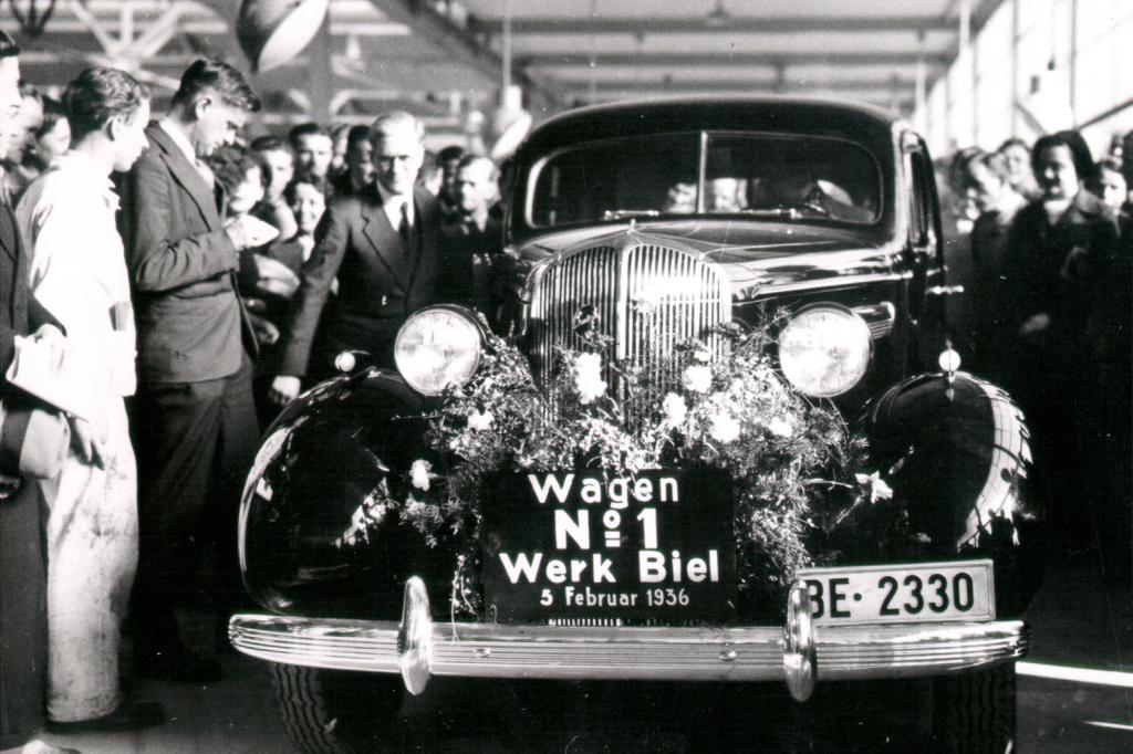 Erster Chevrolet aus der Schweiz, 1936