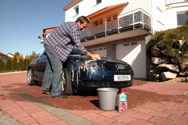 Fahrzeugpflege - Man(n) wäscht gerne