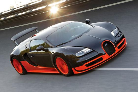 Forbes Liste: Die zehn teuersten Autos der Welt. Bugatti Veyron 16.4 Super Sport.