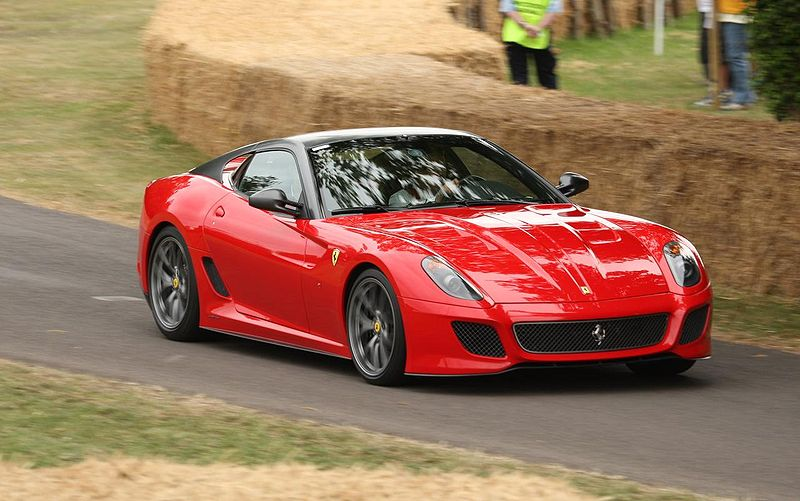 Forbes Liste: Die zehn teuersten Autos der Welt. Ferrari 599 GTO.