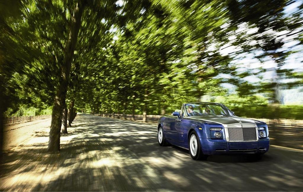 Forbes Liste: Die zehn teuersten Autos der Welt. Rolly Royce Phantom Drophead Coupé.