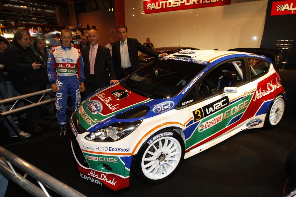 Ford Fiesta RS WRC.