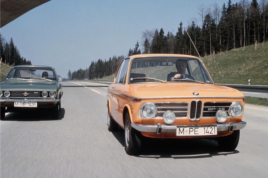 Freie Fahrt für freie Bürger im BMW 2002 ti