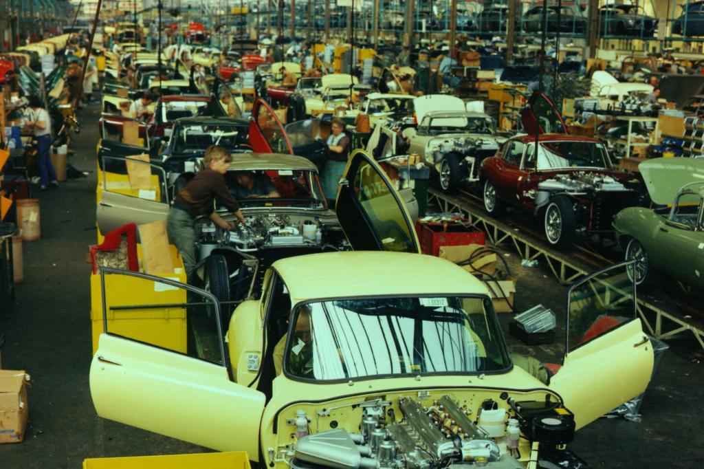 Jaguar E-Type Produktion, 1967