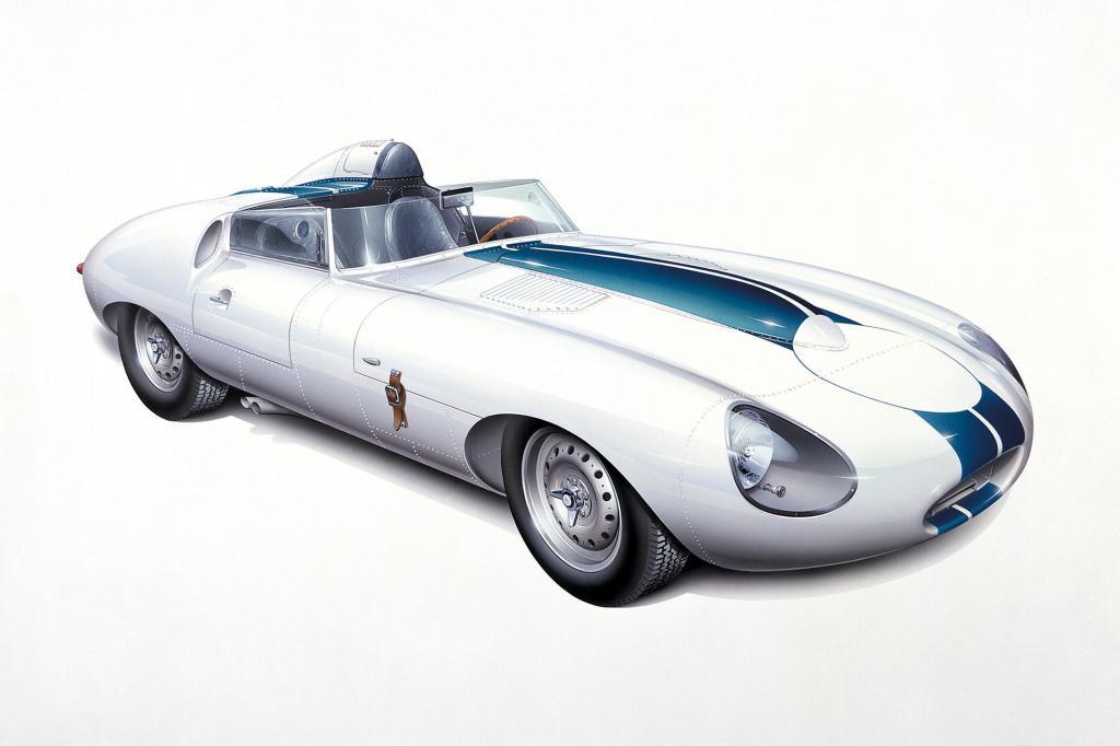 Jaguar E-Type Prototyp E2A, 1960