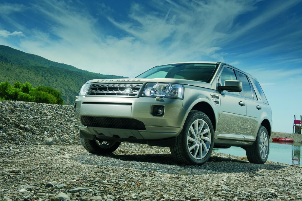 Land Rover zeigt auf der