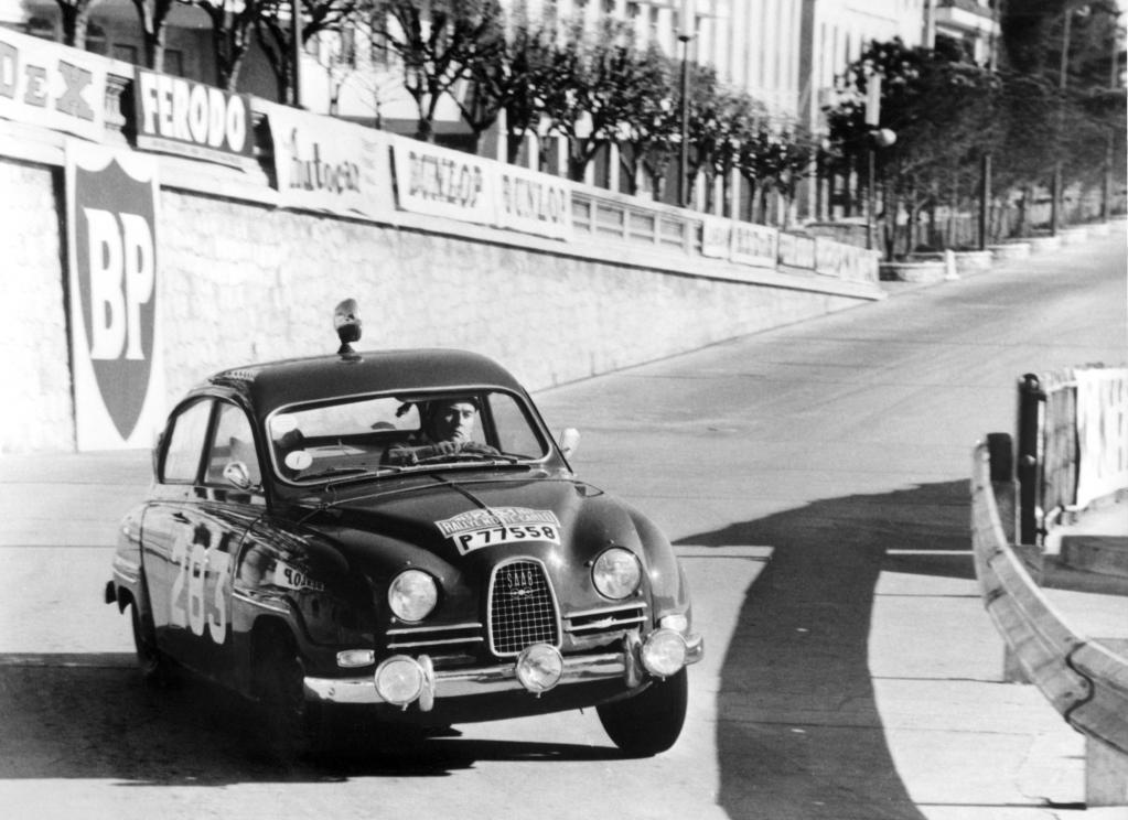 Legendärer Saab 96 startet bei der historischen Monte Carlo