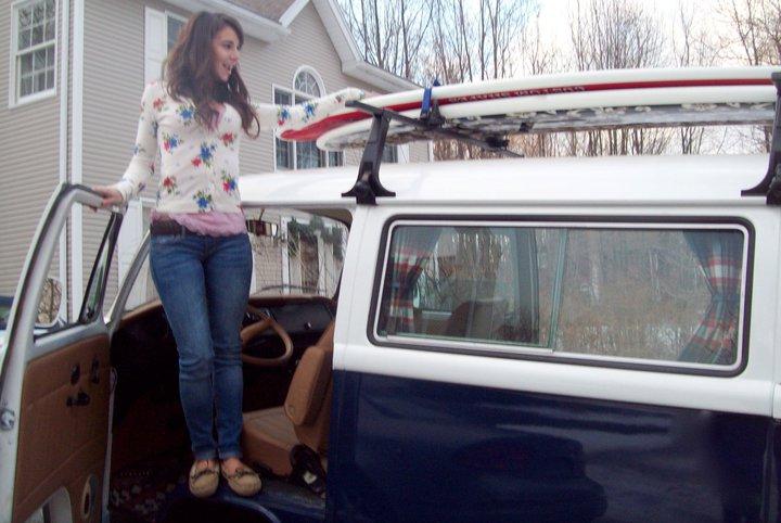 Lizzy Marola wird den Wagen vielleicht verkaufen- für ihr Studium, Foto: Facebook