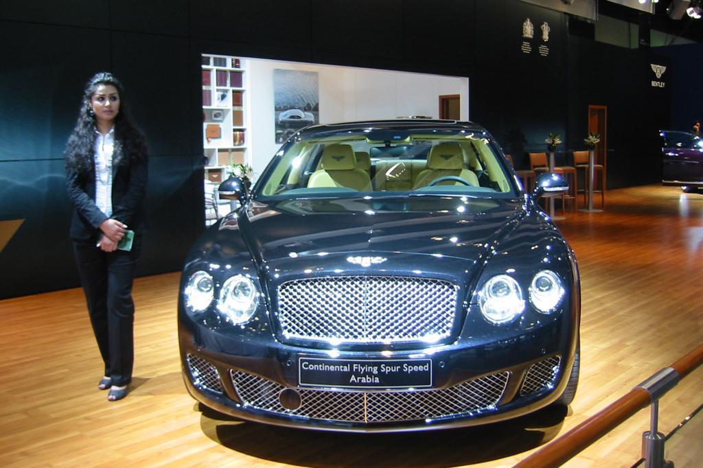 Luxusfahrzeuge wie von Bentley sind im Wüstenstaat sehr beliebt