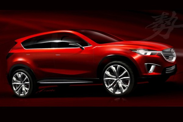 Mazda Studie Minagi - Neuer Crossover steht in Genf