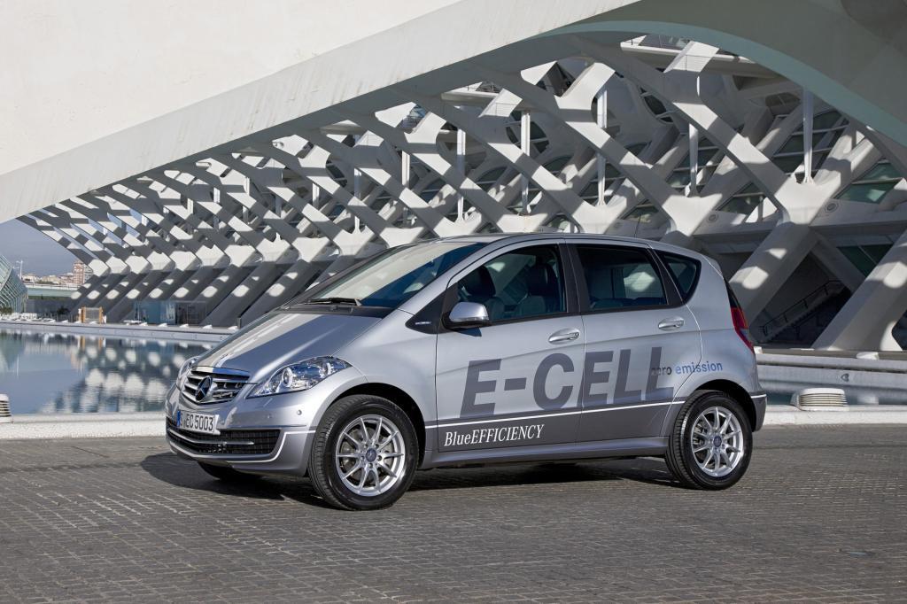 Mercedes A-Klasse E-Cell - Nicht mehr nur mit Strom