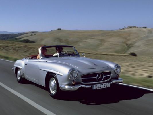Mercedes-Benz Roadster wird 55 Jahre
