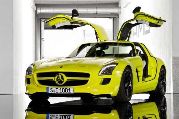 Mercedes-Benz SLS - Supersportwagen wird elektrisch