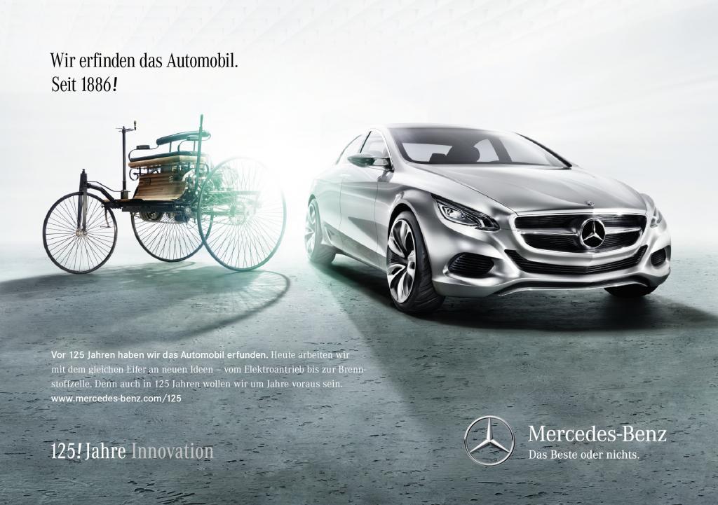 Mercedes-Benz feiert die Erfindung des Autos