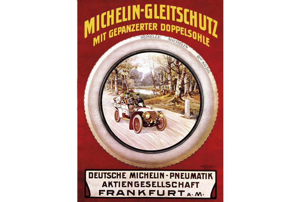 Michelin Reifenwerbnung.