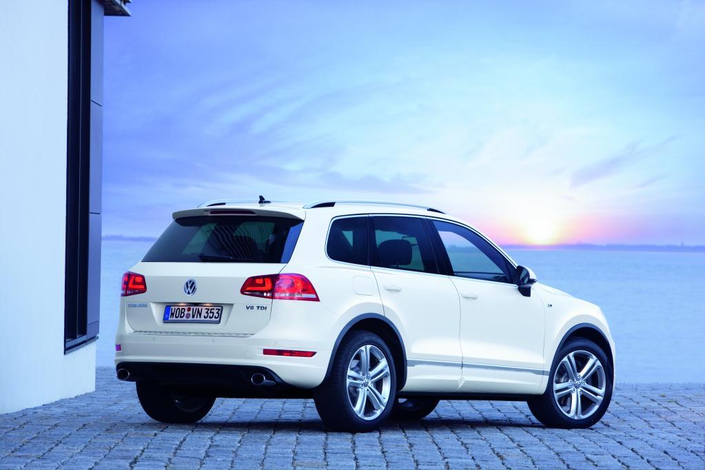 Neues R-Line Paket für den Volkswagen Touareg