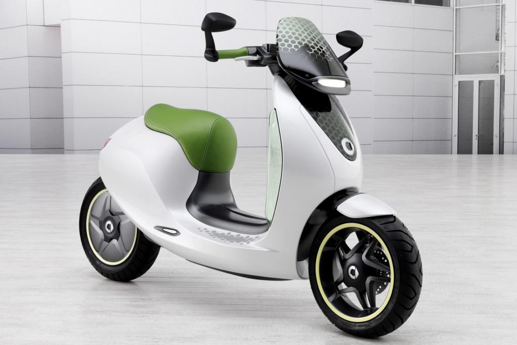 Ob der Smart Escooter tatsächlich in die Schauräume rollen wird ist ungewiss.