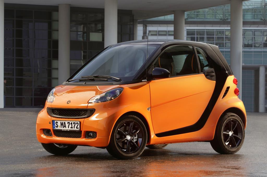 Orange wie die Nacht, das neue Smart Sondermodell