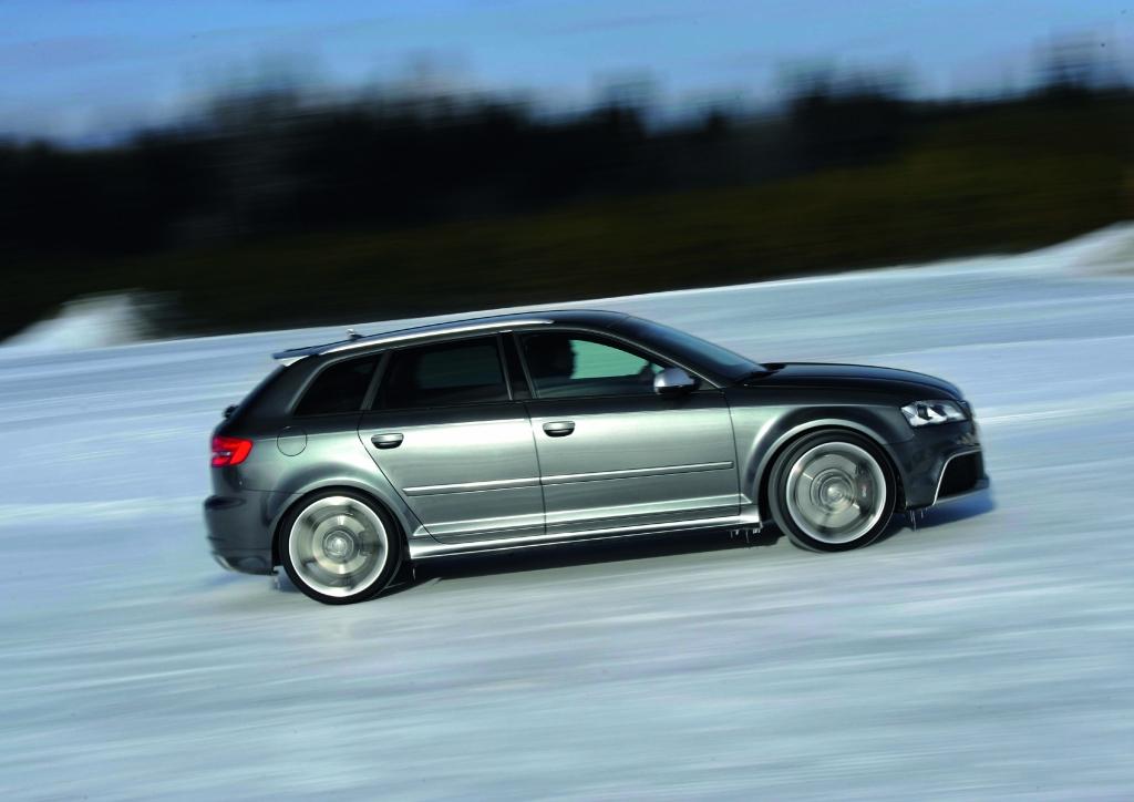 Pressepräsentation Audi RS3 Sportback: Gänsehaut-Kombi