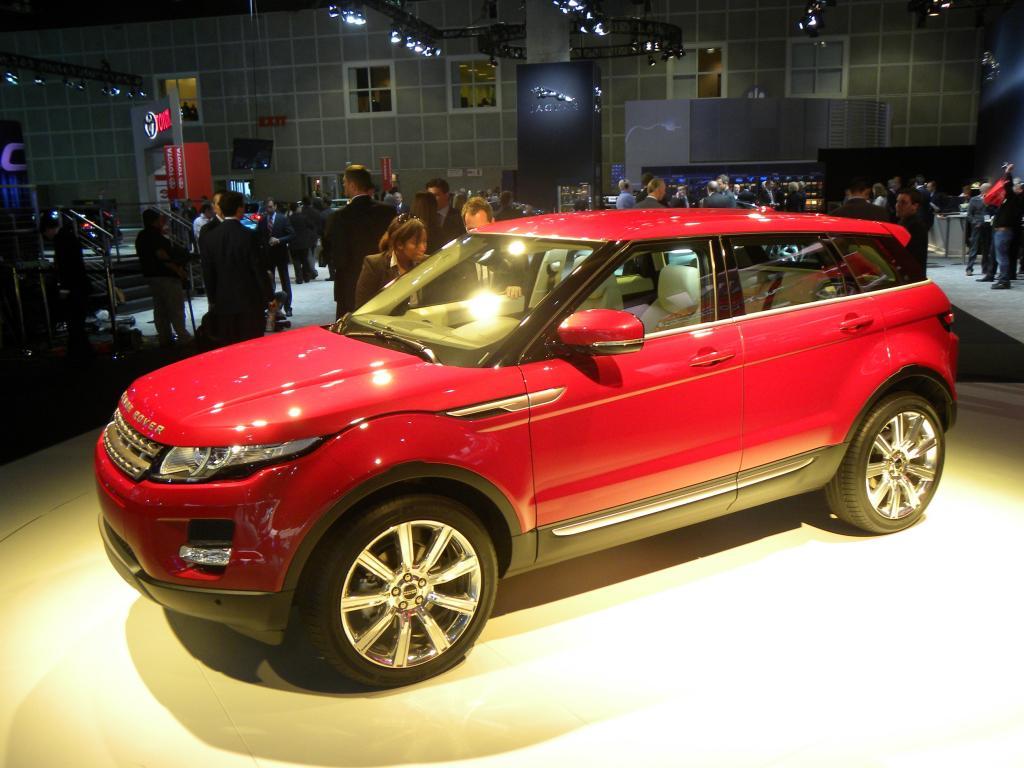 Range Rover Evoque ist Partner des