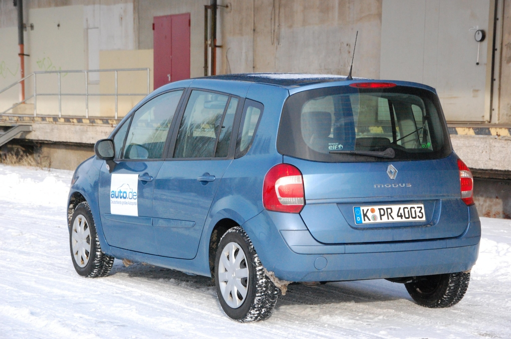 Renault Grand Modus 1.2 TCe 100 eco2 Dynamique: Van-Feeling zum moderaten Preis