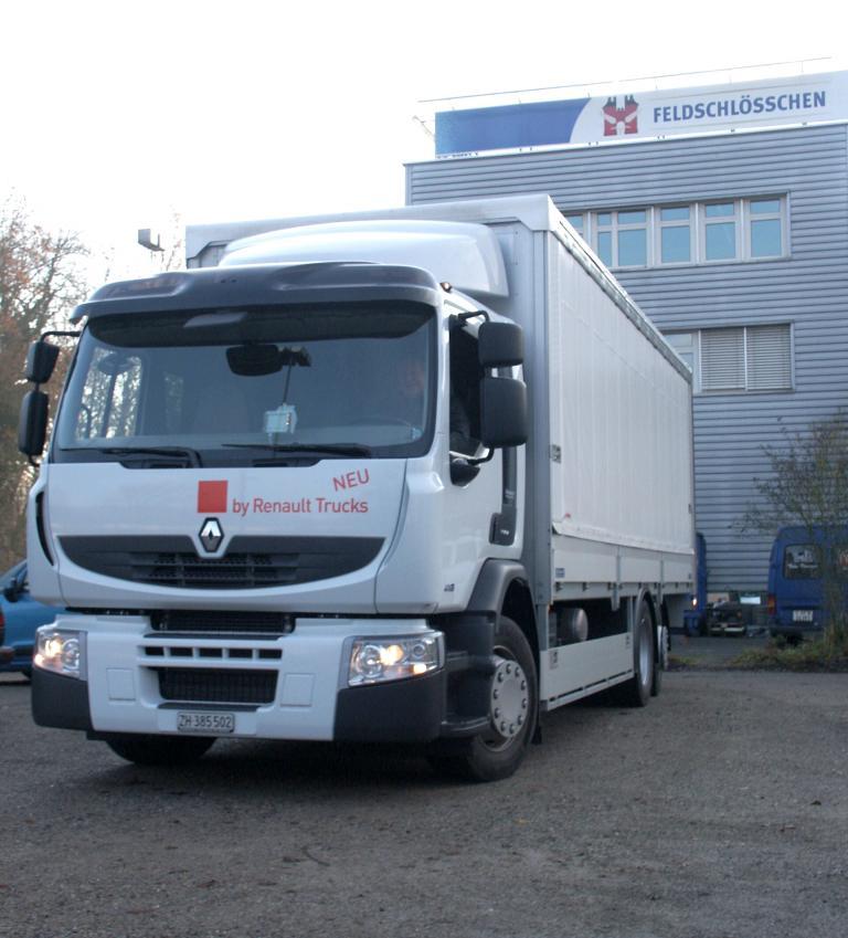 Renault Trucks liefert 140 Lkw an Feldschlösschen