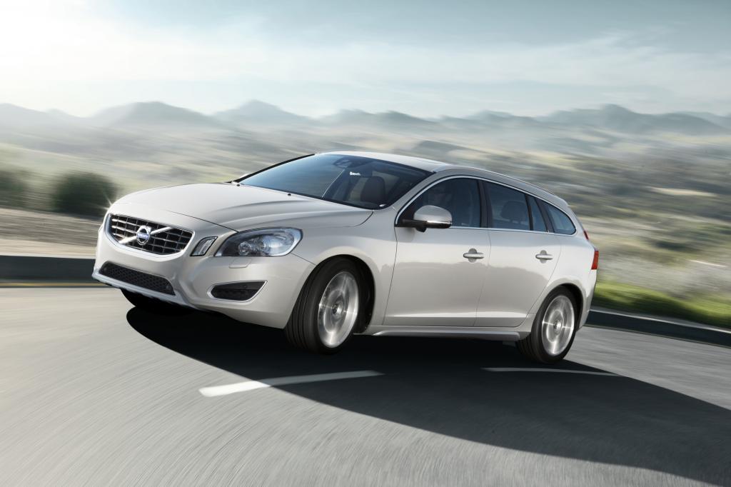 Sauberer Schwede, der neue V60 mit Hybrid steht in Genf
