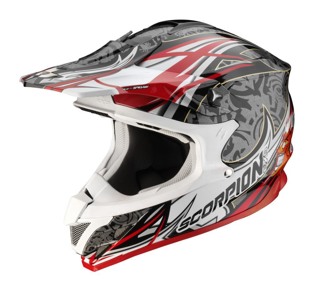 Scorpion bringt vier neue Helme auf den Markt