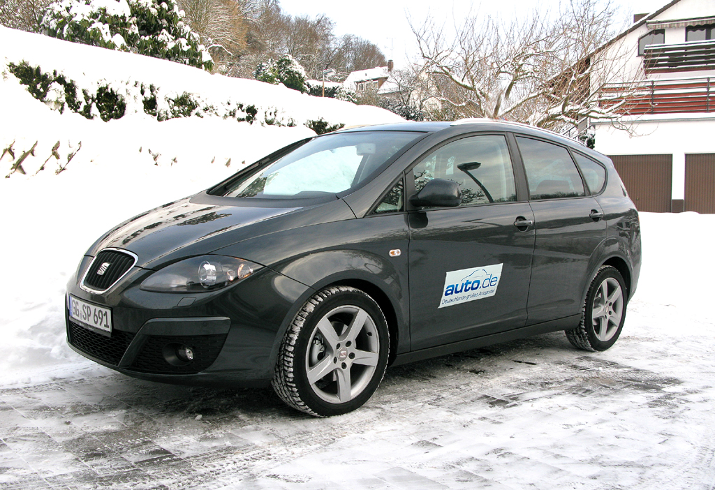 Seat Altea XL, hier als 105-PS-Ecomotive-Diesel.