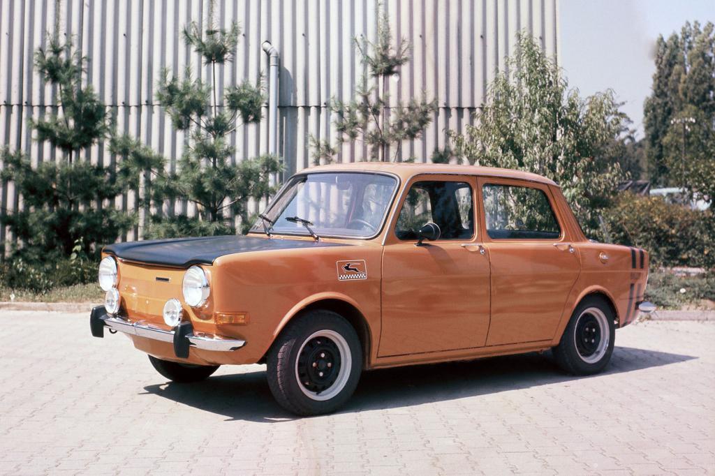 Simca baute in den 70er Jahren Autos mit Heckantrieb