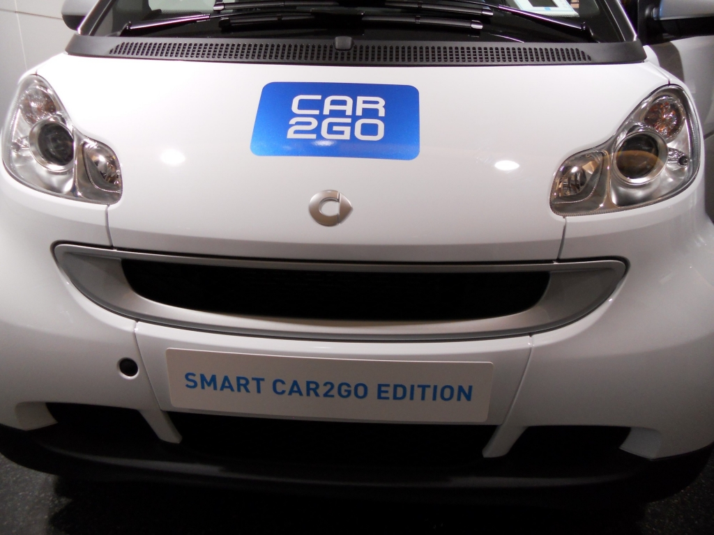 Smart Car2go in Hamburg.