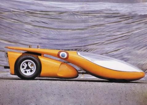 So sah der Wagen designed by Luigi Colani aus, Foto:Ebay