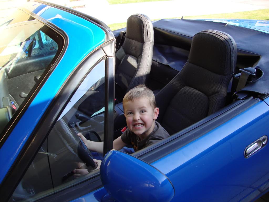 Soll dieser Sprössling wirklich Autos stehlen lernen?, Foto: Forum Miata