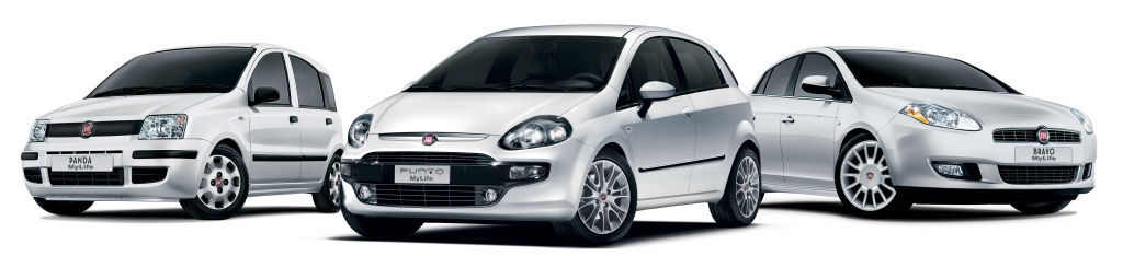 Sondermodelle: Fiat ''MyLife'' Modelle.