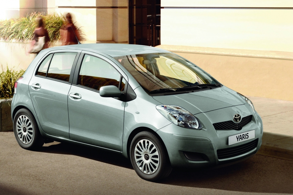 Sondermodelle: Toyota Yaris ''CoolEdition''.