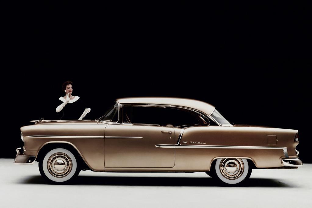 Spiegelt den Geist der Fünfzigerjahre wider: der Chevrolet Bel Air.