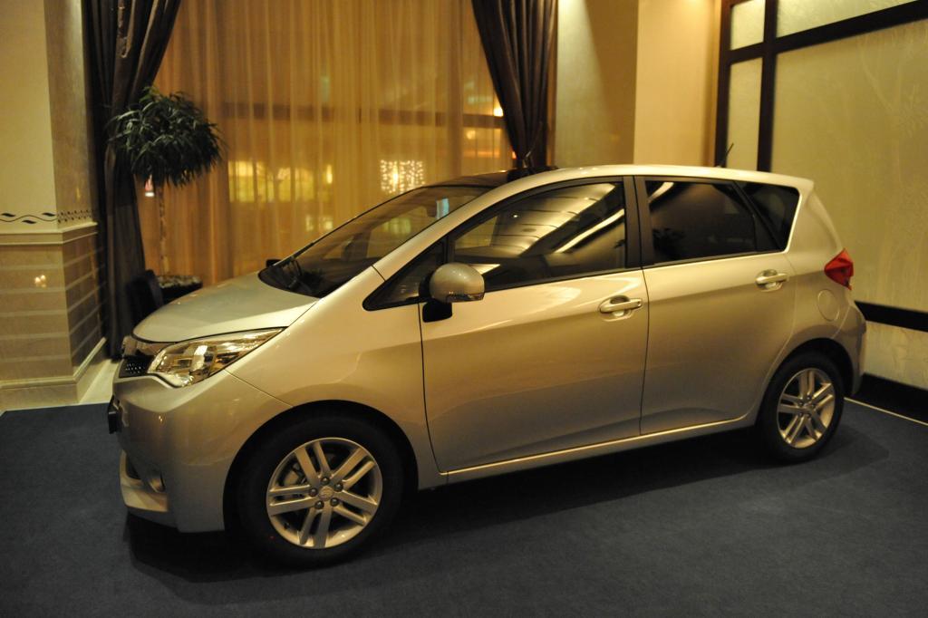 Subaru will vom Trezia dieses Jahr 1.000 Stück in Deutschland verkaufen