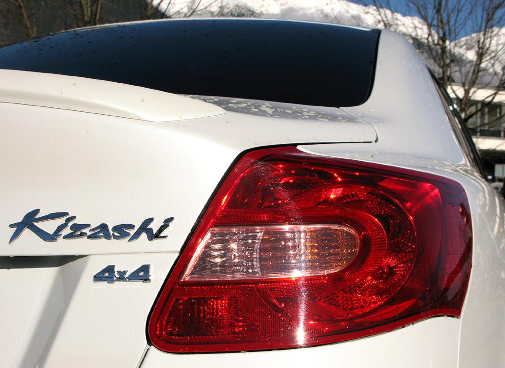 Suzuki Allrad: Die Antriebsart findet sich auch im Schriftzug am Heck.