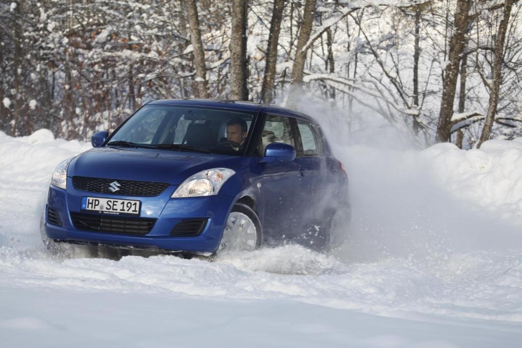 Suzuki Swift 4x4 und Suzuki Kizashi 4x4 i-AWD: Allradantrieb für alle