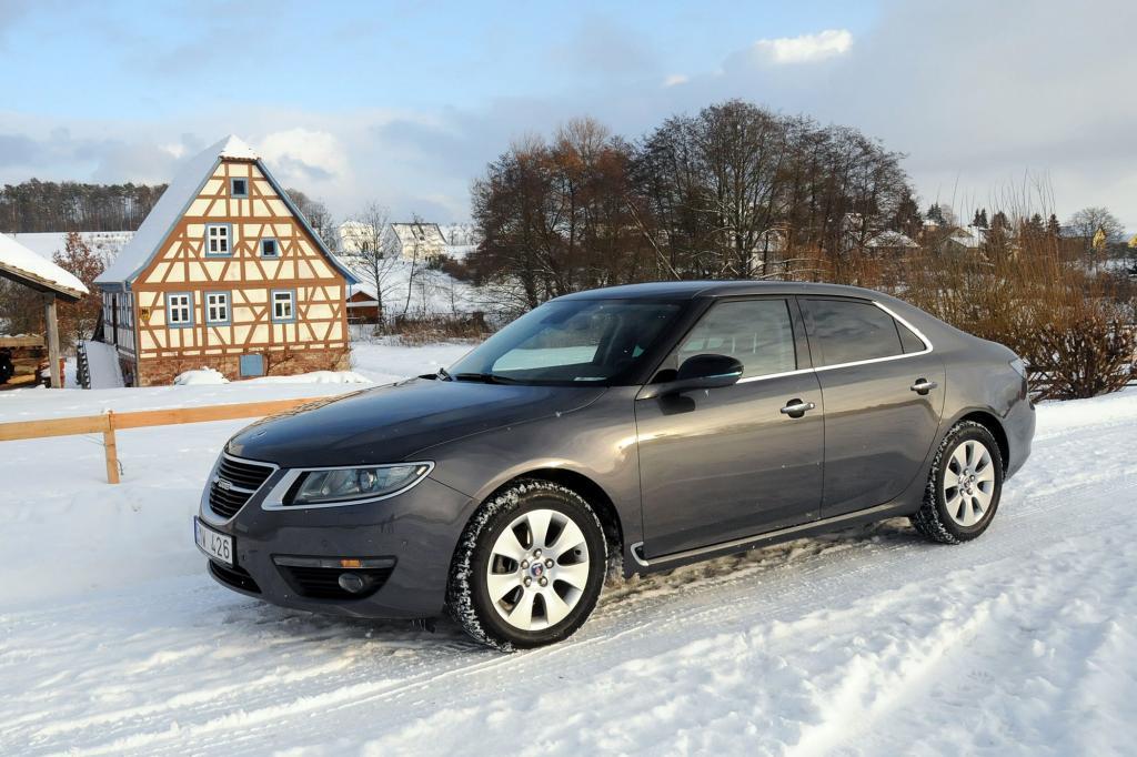 Test Saab 9-5 - Form und Funktion